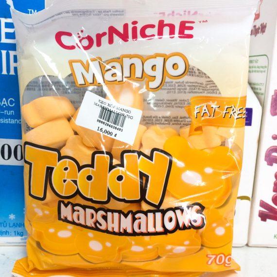 Kẹo Xốp Marshmallow Mango 70g