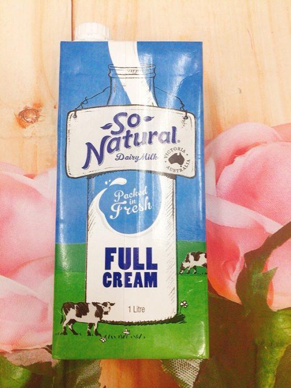 Sữa Tươi Nguyên Chất Không Đường So Natural 1Lít
