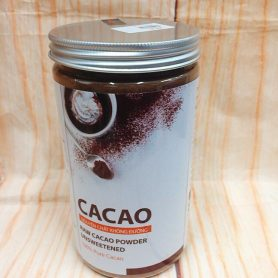 Hộp Bột Cacao Nguyên Chất Không Đường 440gr