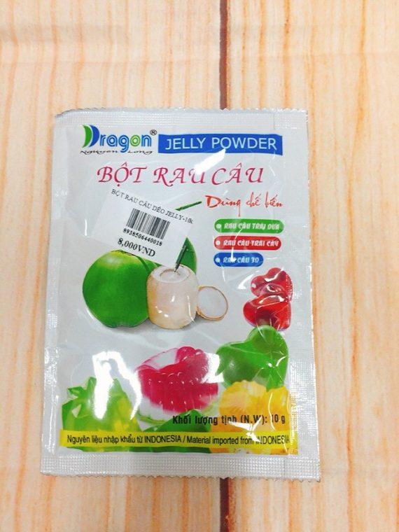 Bột Rau Câu Dẻo Jelly Dragon 10gr