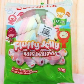 Kẹo Xốp Marshmallow Jelly Xoắn 70g