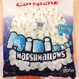 Kẹo Xốp Marshmallow Mini Trắng 200gr