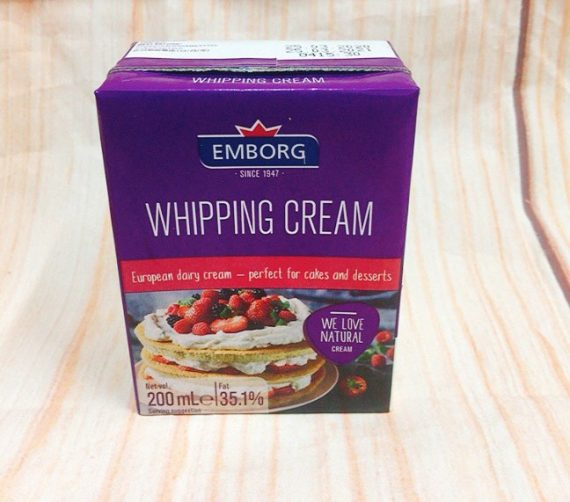 Whipping Cream Emborg 200ml