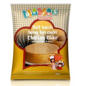 Bot Bong Lan Cuon Chiffon Cake