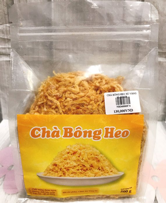 Cha Bong Heo Xu Vang 500gr
