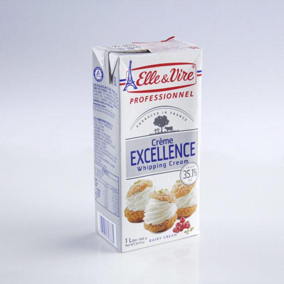 Whipping Cream ELLE & VIRE 1 lit