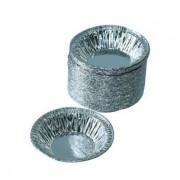 Chén giấy bạc, chén giấy nhôm bánh tart trứng Y1A dùng làm món bánh tạc trứng rất ngon.