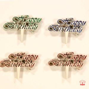 chữ happy birthday viền nhỏ