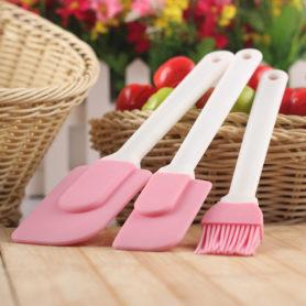 cọ quét bộ ba cái màu hồng 01