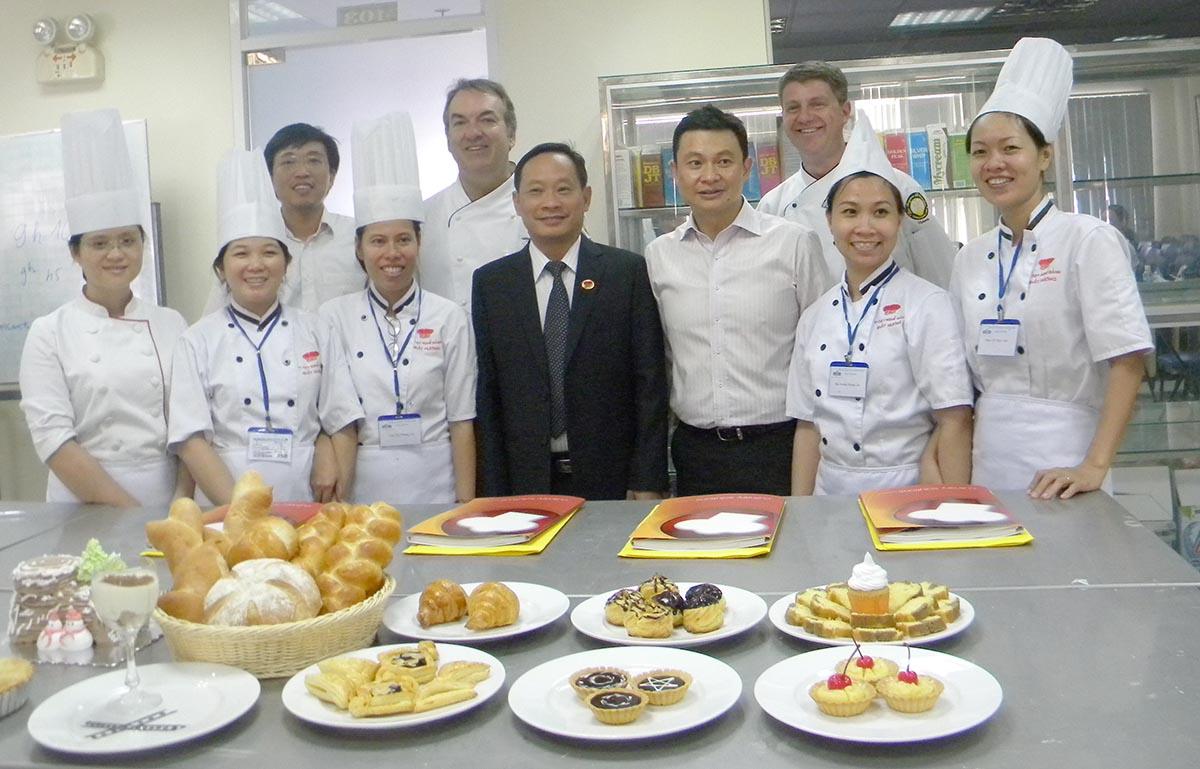 Học Làm Bánh lấy chứng chỉ Quốc Tế của Úc