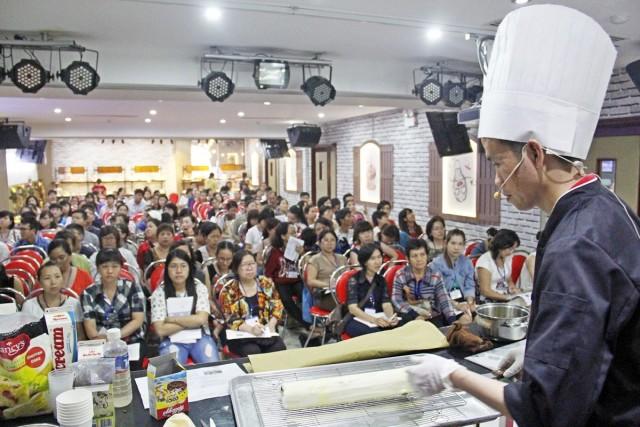 Hội Thảo Làm Bánh tại Siêu Thị Dụng Cụ Làm Bánh