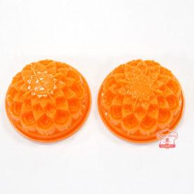 khuôn bánh trung thu nhựa màu cam