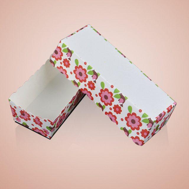 khuôn giấy nướng bánh hình chữ nhật 50 cái 03