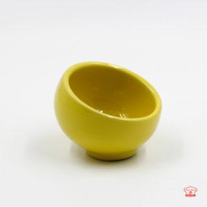 khuôn sứ pudding tc09 màu vàng