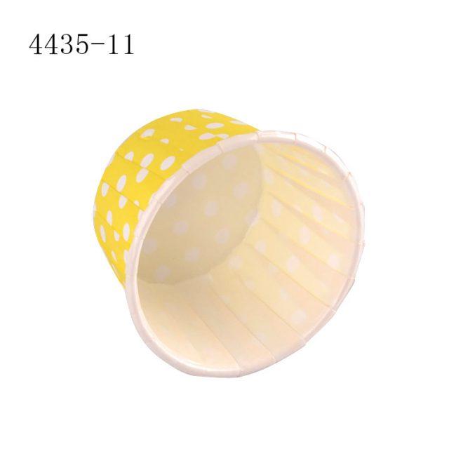ly giấy cupcake tròn màu vàng 4435 100 cái -01