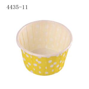 ly giấy cupcake tròn màu vàng 4435 100 cái