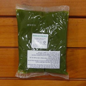 nhân đậu xanh lá dứa làm bánh trung thu