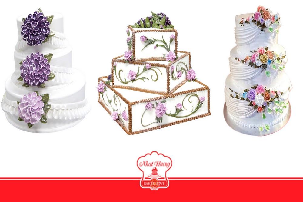 Bánh cưới phong cách vintage Châu Âu