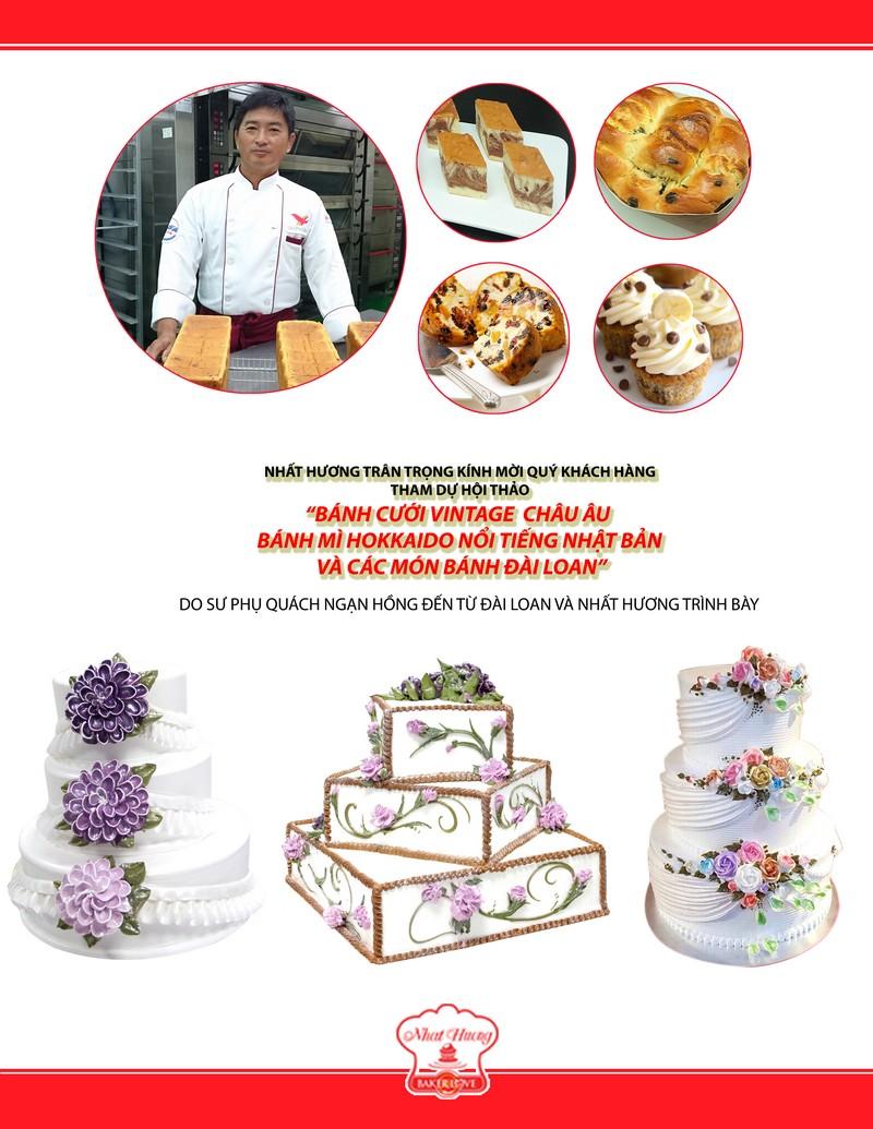 Thư mời hội thảo làm bánh hokkaido nhật bản